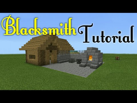 How To Build Blacksmith in MCPE
