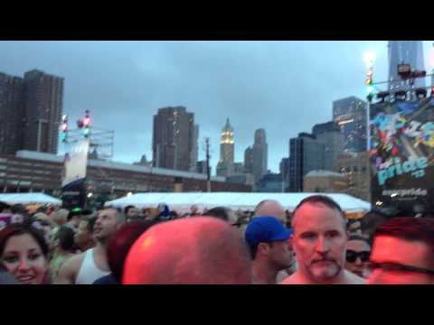 NYC GAY PRIDE DANCE ON THE PIER