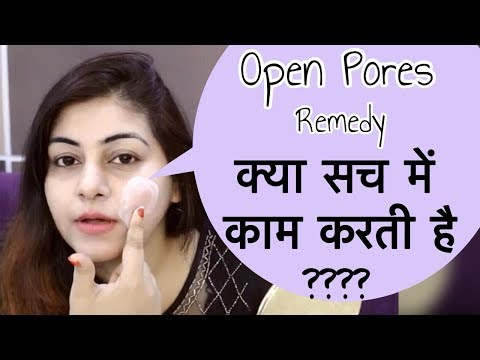 How to get rid of Large Pores Permanently - Young tighten skin | Open Pores Treatment | JSuper Kaur