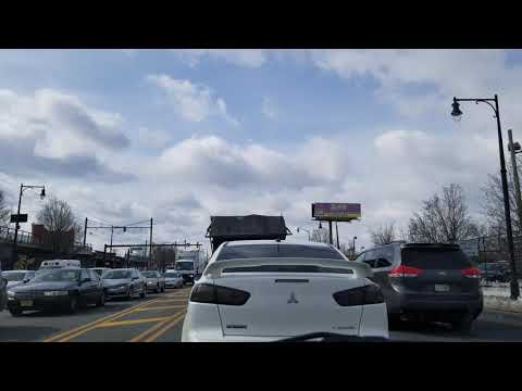 Driving in Newark 4K vlog