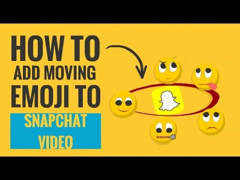How to Add Moving Emoji to Snapchat Video (Explain in 3 Simple Steps)
