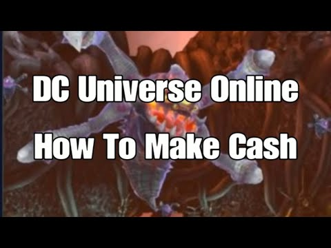 DC Universe Online How To Make Cash