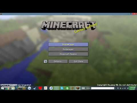 How to color your minecraft world names!