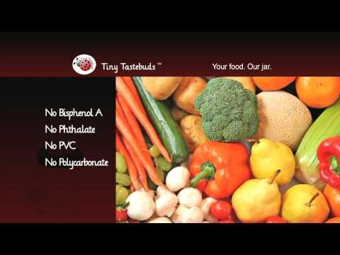 Making Baby Food?    Tiny Tastebuds™
