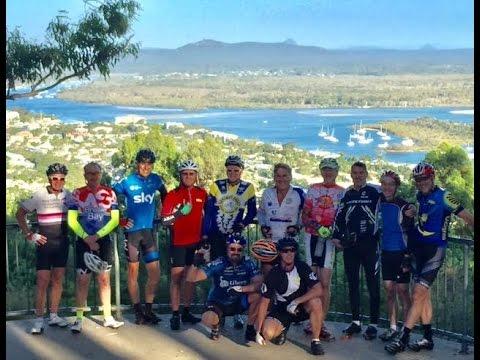 Sunshine Coast Bicycle Touring Club. 40km ride to Noosa.