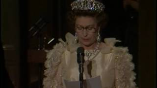President Reagan's Remarks at a Dinner Honoring Queen Elizabeth II on March 3, 1983