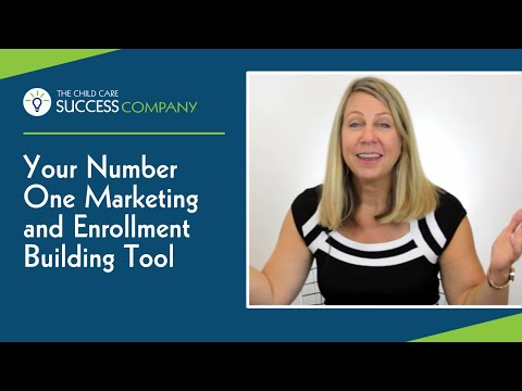 Your Number One Marketing and Enrollment Building Tool
