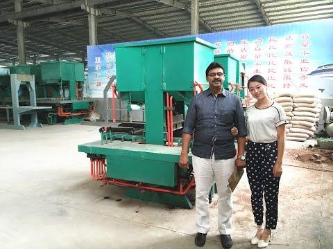 230 tons pressure DMYF500 interlocking/clay brick machine in india