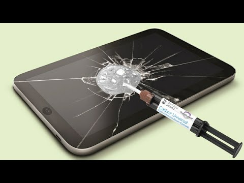 Repair A Phone Screen With Epoxy