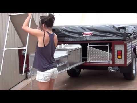 Scrubbers Camper Trailers Kitchen