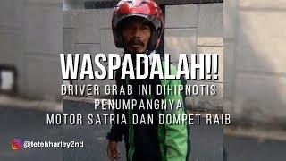 Driver Grab Jadi Korban Hipnotis