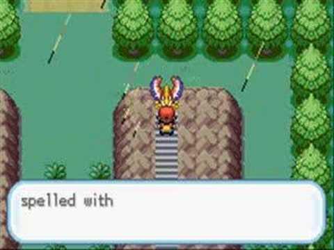 Pokemon Fire Red Hack 1
