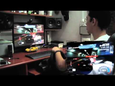 Need for Speed Hot Pursuit! with MOMO Racing Force Feedback Wheel HD