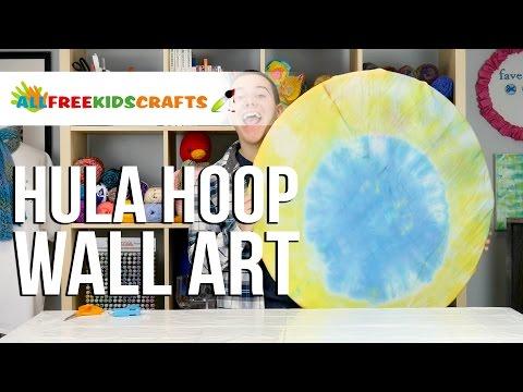 Hula Hoop Wall Art
