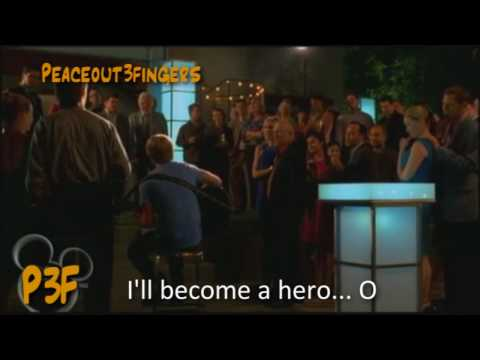 Hero (unplugged) Disney Starstruck Sing-along with movie clip (HD)