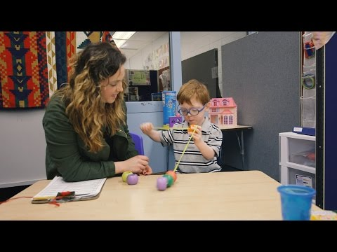 Student energized by teaching experience at KU preschool