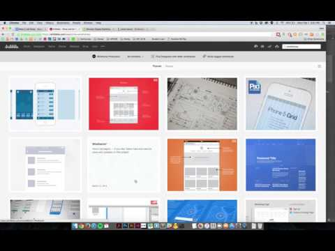 How to Setup Photoshop for Wireframing a Website