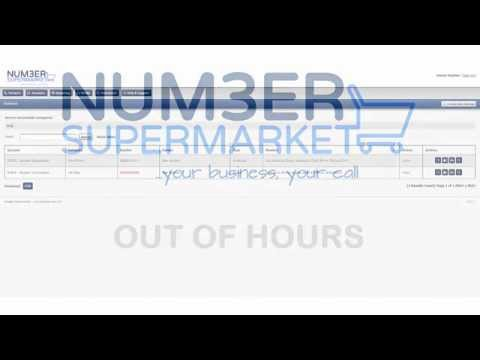 Number Supermarket Out of Hours
