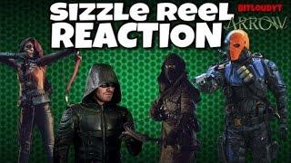 Arrow Sizzle Reel Reaction Season 5