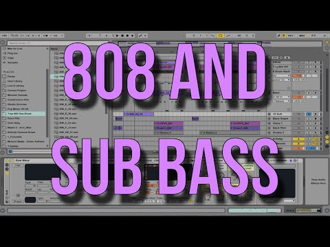 Ableton Beatdown: Trap 808s and Sub Bass