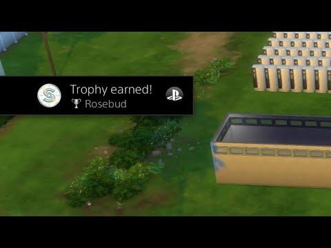 Sims 4 PS4 - Rosebud Trophy