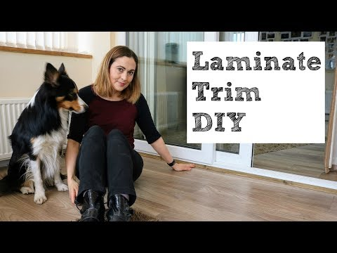 Installing & Making Laminate Flooring Beading | The Carpenter's Daughter