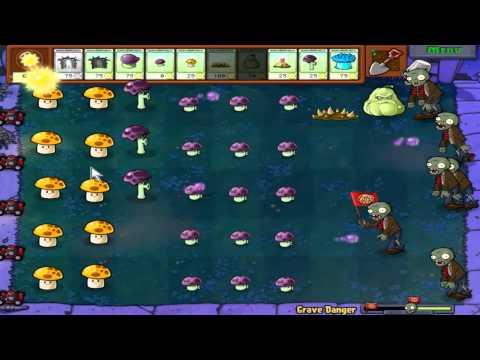 Plants vs. Zombies - Grave Danger (Hidden mini-game)