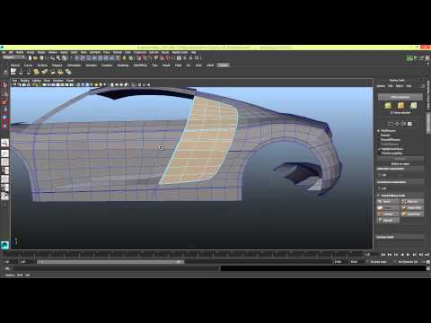 Modelling a Car in Maya Series 1 [P18]