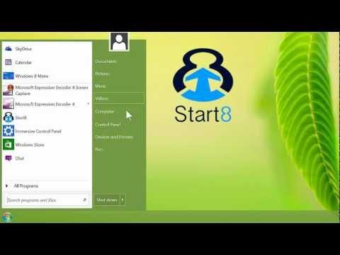 Windows 8 start menu returns with Start8 from Stardock!