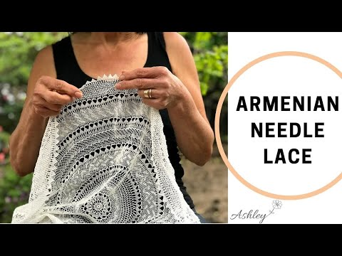 How to do Needle Lace Designs