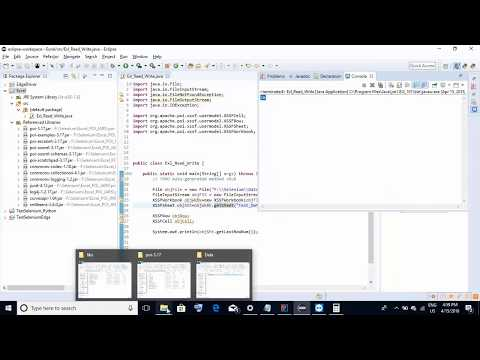 Selenium Interview Question:How to read/write data in excel files using Selenium Part 2