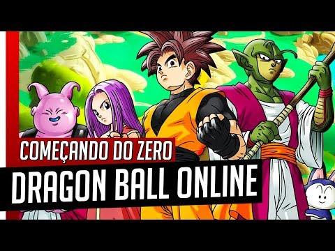 Dragon Ball Online // COMEÇANDO DO ZERO: Conhecendo o Jogo