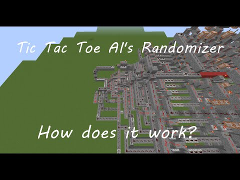Tic Tac Toe AI's Randomizer, how does it work? | Overview and explanation