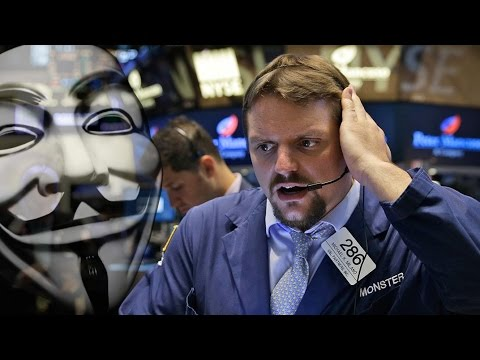 NYSE & United Shutdown: Anonymous or a Glitch?