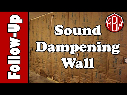 Soundproofing the Shop:  Did the Sound Dampening Wall Work?