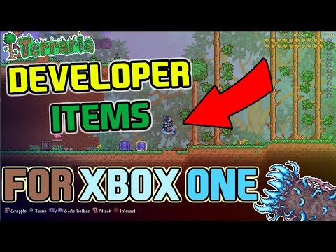 Terraria 1.3 - Equipable Developer ITEMS/ARMORS + Download Link! ONLY FOR XBOX ONE!