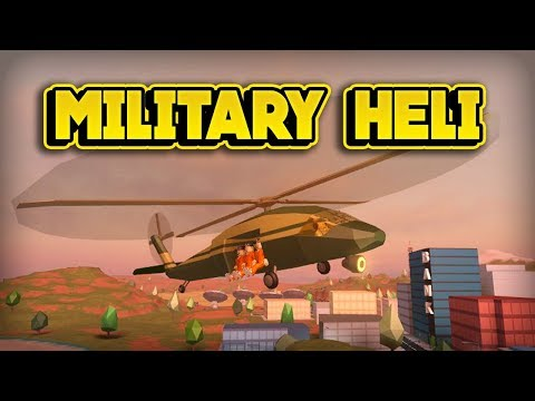 A MILITARY HELICOPTER IS COMING TO JAILBREAK! (ROBLOX Jailbreak)