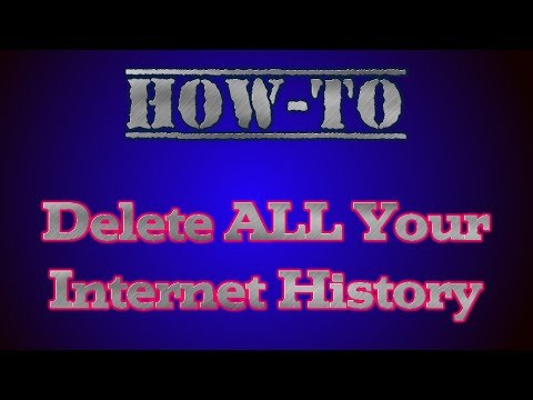 How to Delete ALL of Your Internet History, Cookies and Download History in Google Chrome [2014]