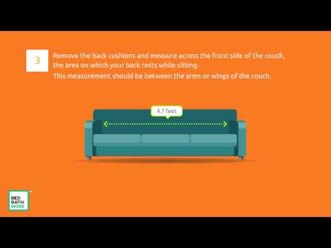 HOW TO MEASURE A COUCH