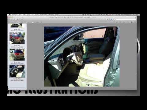 How to Crop and Rotate Picture using Preview - free mac app