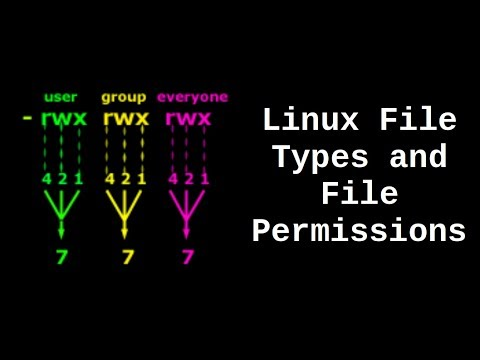 Linux File Types and File Permissions
