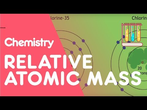 How to calculate Relative Atomic Mass | The Chemistry Journey | The Fuse School