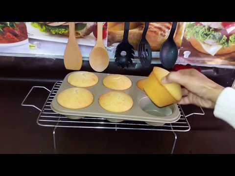 Cupcakes  | Homemade bakery-style fluffy vanilla muffins recipe