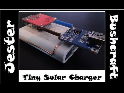 Possibly The Smallest DIY Solar Charger ?
