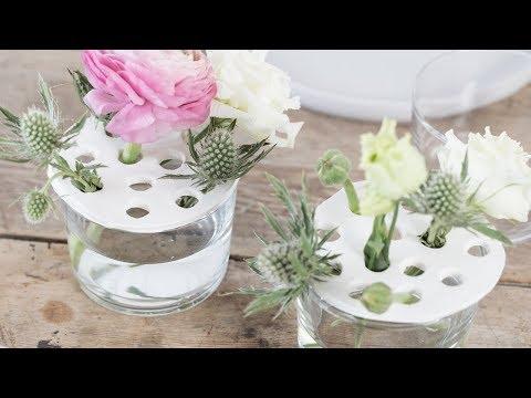 DIY : Homemade clay vase by Søstrene Grene