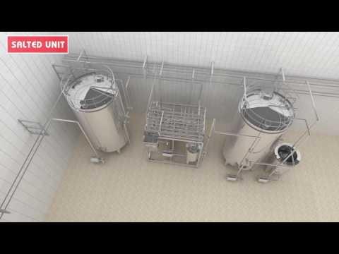 3D Milk Plant Animation - Dairy Milk Processing Manufacture Movie