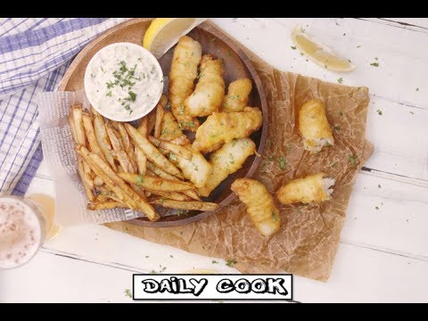 Daily Cook - How to cook fish and chips