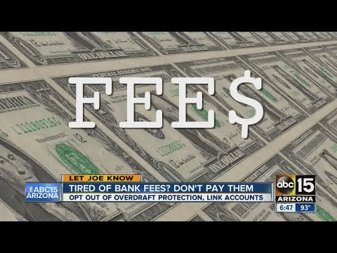 Tired of bank fees? Don't pay them