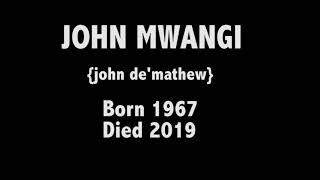 #Tribute to John De || A tribute to John De Mathew