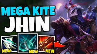 FULL MOVEMENT SPEED JHIN CAN KITE ANYONE! AUTO ONCE GET 1000 MS - League of Legends